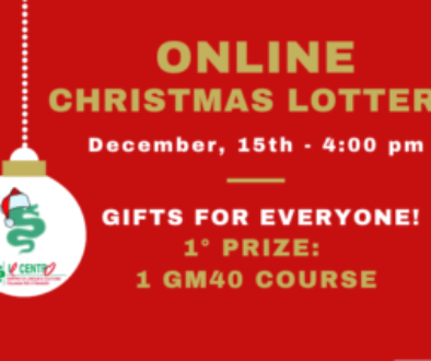 Online Christmas lottery