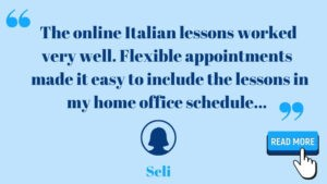 online italian courses with us
