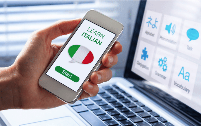 Business Italian Classes Online - Improve your business - Mobile Version