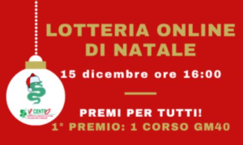 lotteria online di Natale