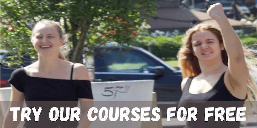 Try our courses for free