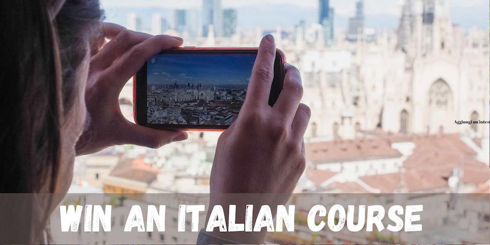 Win an italian course