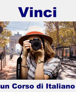 Vinci un corso di italiano gratis